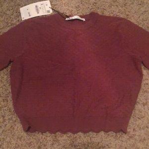 Zara Sweaters - Zara textures knit sweater